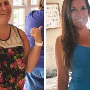 108-килограмова жена свали 45 кг за година