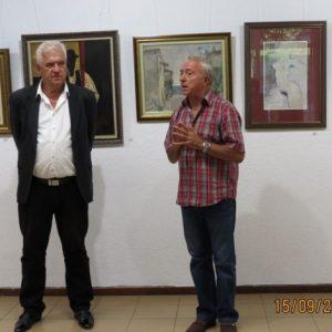50 картини от частната си колекция си показва Николай Ангелов в КДК