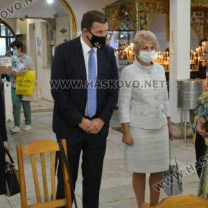 В Хасково отслужиха литургия за Рождество на Пресвета Богородица
