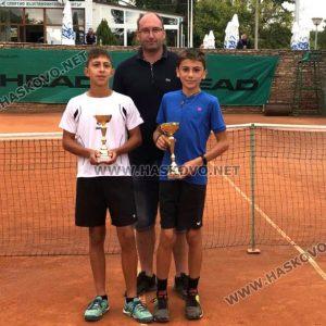 Ева Николова и Борислав Кирилов са победители в Държавния турнир по тенис в Хасково