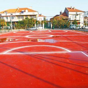 Изградиха две спортни площадки в Свиленград за над 80 000 лева