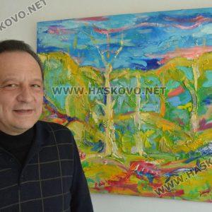 Константино Льондев донесе частица Италия в Хасково