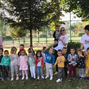 """Малчуганите от ДГ """"Слънце"""" в Ардино се включиха в инициатива """"Нестле за Живей Активно"""""""