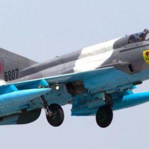 МиГ-21 се разби в Румъния