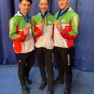 Тихомир Баротев и съотборниците му със златен медал от международен турнир