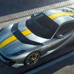 Ферари с първи детайли за нов супермодел