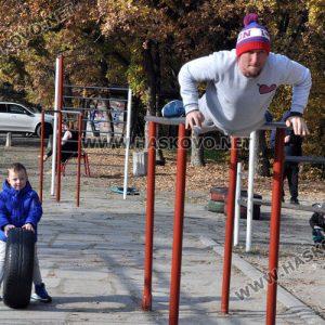 Хасковлии продължават тренировките на открито след затварянето на фитнесите