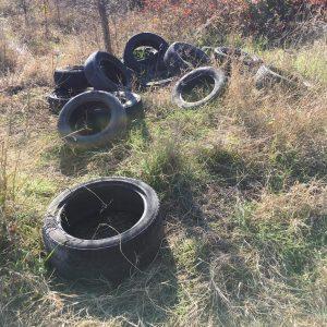 """Хасковлия: Нерегламентирано сметище се образува в горичката до парк """"Кенана"""""""